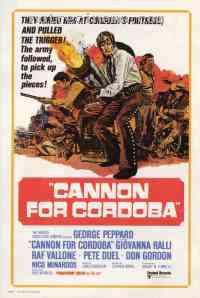 Poster Les Canons de Cordoba 101934