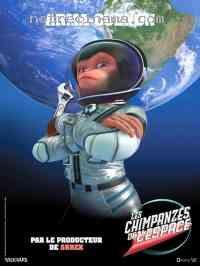 Poster Les Chimpanz�s de l'espace 102104