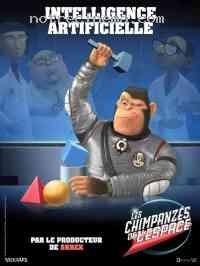 affiche  Les Chimpanz�s de l'espace 102105