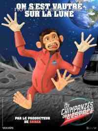Poster Les Chimpanz�s de l'espace 102106