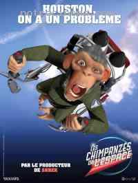 affiche  Les Chimpanz�s de l'espace 102107