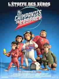 affiche  Les Chimpanz�s de l'espace 102108