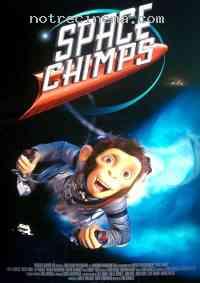 affiche  Les Chimpanz�s de l'espace 102110