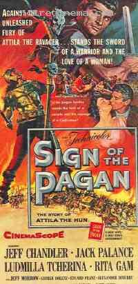 Poster Le Signe du pa�en 102361