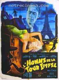 Poster L'Homme de la tour Eiffel 103027