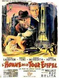affiche  L'Homme de la tour Eiffel 103031