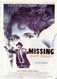 Poster Missing / Port� disparu 106770