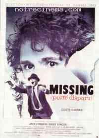 Poster Missing/Porté disparu 106770
