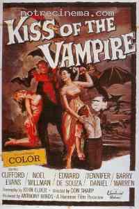 affiche  Le Baiser du vampire 106828