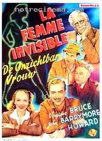 Poster La Femme invisible 107301