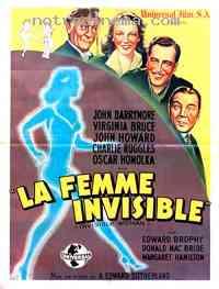 affiche  La Femme invisible 107302