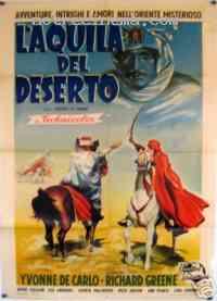 Poster L'Aigle du d�sert 107454