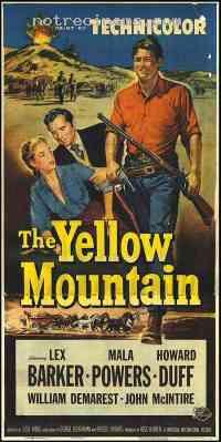 affiche  La Montagne jaune 108165