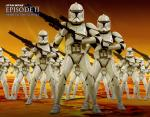 wallpapers Star Wars L'Attaque des Clones