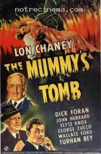 affiche  La Tombe de la momie 108762