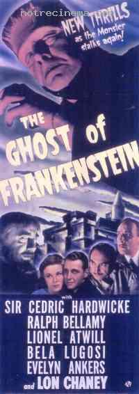 Poster Le Spectre de Frankenstein 108783
