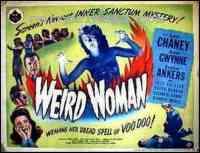 Poster Weird woman 109199