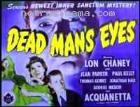 Poster Dead Man's Eyes 109202