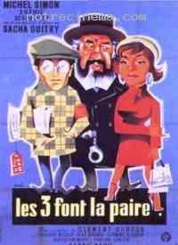Poster Les Trois font la paire 109966