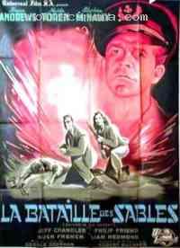 affiche  La Bataille des sables 111828