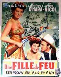 Poster La Belle rousse du Wyoming 112968