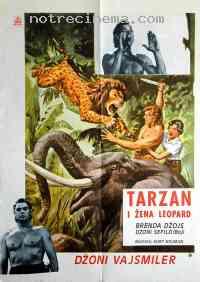 affiche  Tarzan et la femme l�opard 112981