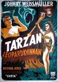 affiche  Tarzan et la femme l�opard 112982