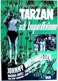 affiche  Tarzan et la femme l�opard 112983