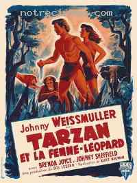 Poster Tarzan et la femme l�opard 112984