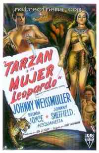 affiche  Tarzan et la femme l�opard 112986