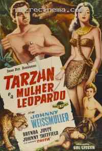 affiche  Tarzan et la femme l�opard 112987