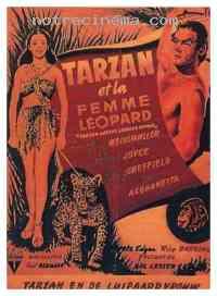 affiche  Tarzan et la femme l�opard 112988