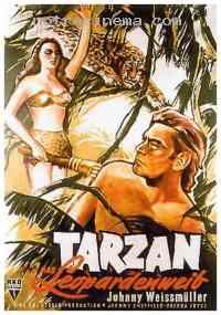 Poster Tarzan et la femme l�opard 112990