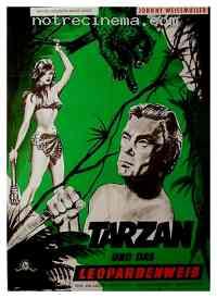 Poster Tarzan et la femme l�opard 112992