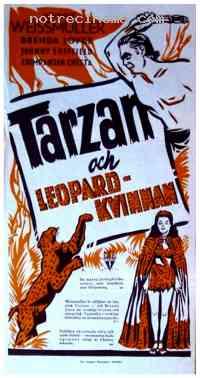 Poster Tarzan et la femme l�opard 112999