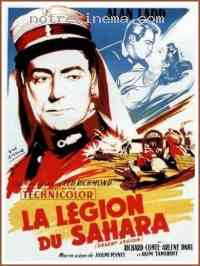 affiche  La L�gion du Sahara 113101