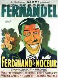 affiche  Ferdinand le noceur 115686