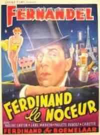affiche  Ferdinand le noceur 115687