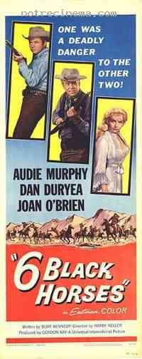 Poster Six chevaux dans la plaine 115820