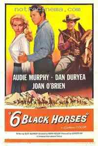 affiche  Six chevaux dans la plaine 115821