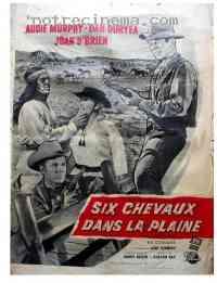 affiche  Six chevaux dans la plaine 115822