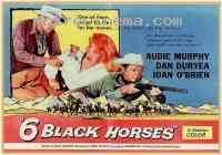 Poster Six chevaux dans la plaine 115823