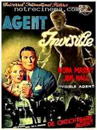 Poster L'Agent invisible contre la Gestapo 129151