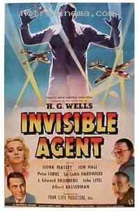 Poster L'Agent invisible contre la Gestapo 129155