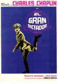 Poster Le Dictateur 130126