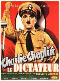 affiche  Le Dictateur 130127