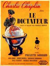 affiche  Le Dictateur 130128