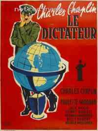 Poster Le Dictateur 130129