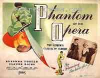 Poster Le Fant�me de l'Op�ra 132312
