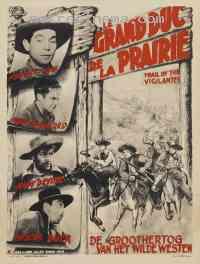 Poster Sur la piste des Vigilants 133226